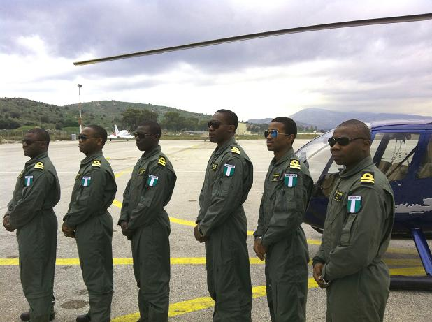 6 Nigerian Officers begin their training at Superior Air