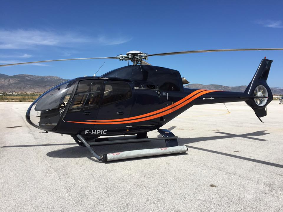 EC 120 relocated to Mykonos!