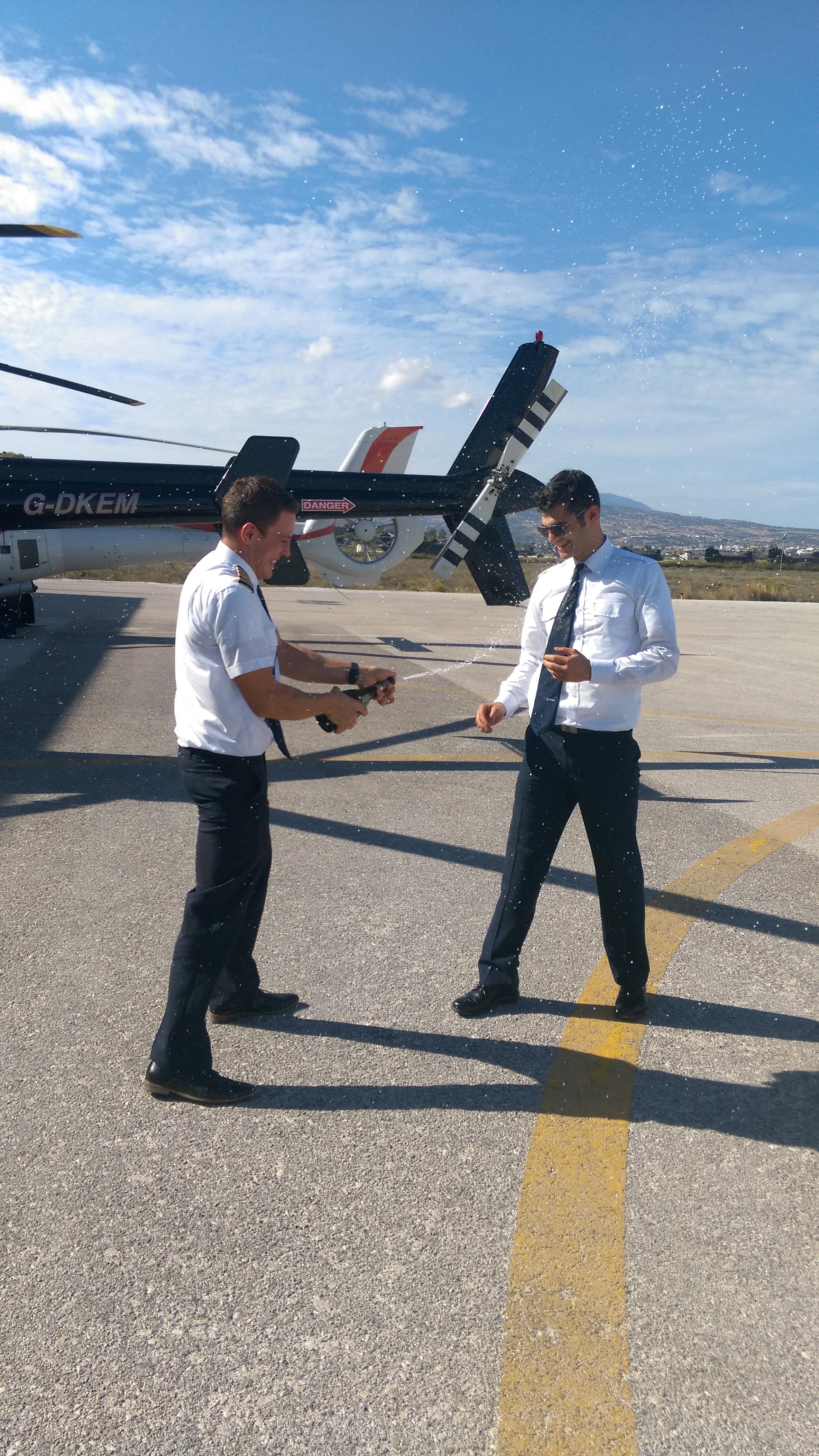 Mr. Chamogeorgakis Matthew first solo flight!